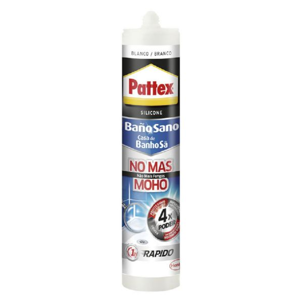 PATTEX BAÑOSANO NO MAS MOHO 280ML BLANCO
