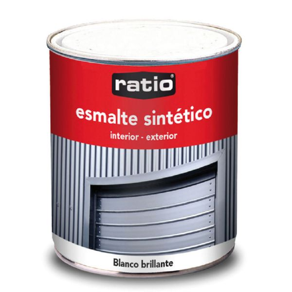 PINTURA ESMALTE 750ML BLANCO BRILLO
